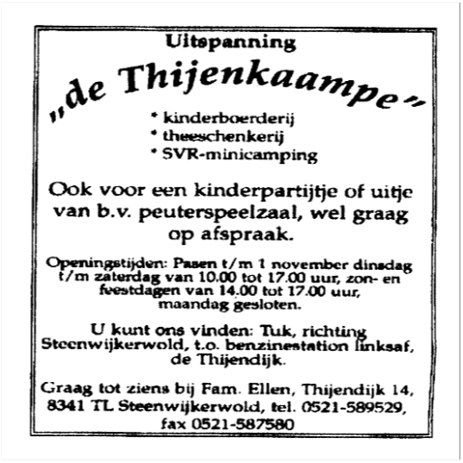 De Thijenkaampe